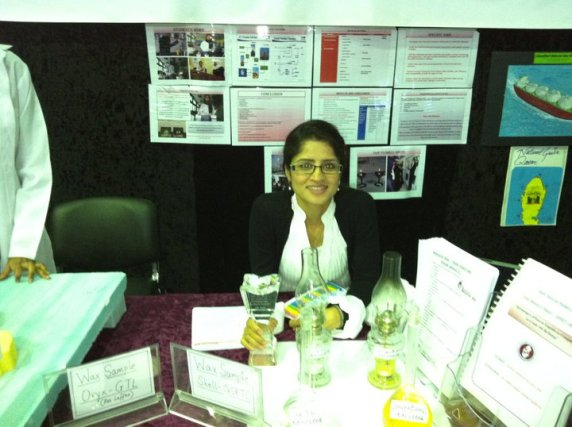 Science fair-Research booth
